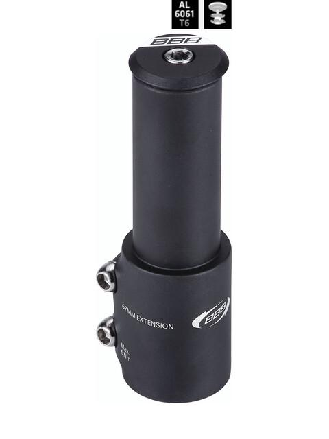 BBB TubeExtend -lisätanko BHP-22 , musta